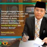 Prof. Dr. Phil. H. Kamaruddin Amin, MA